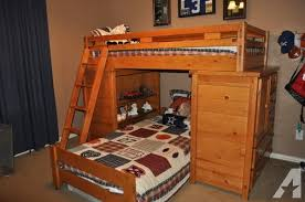 Bunk Bed Used Creekside Pine Bunk Beds From Rooms To Go Barely
