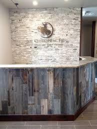 Office Front Desk Hotel Front Desk With Reclaimed Wood Google Search 17 Market