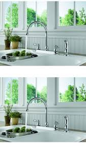 Ebay Kitchen Faucets Faucets 42024 Peerless Two Handle Kitchen Faucet With Side
