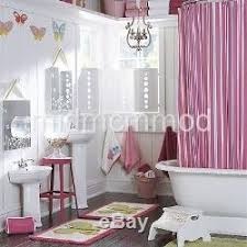 Pottery Barn Kids Shower Curtains Pottery Barn Kids Kelsey Multistripe Shower Curtain Bath Mat