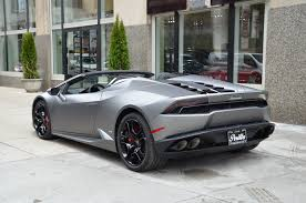 lamborghini huracan grey 2017 lamborghini huracan lp 610 4 spyder stock 06461 for sale