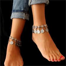 ankle bracelet images Charm coin ankle bracelet galaxy teez shirts jewelry and jpg