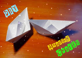 diy easy paper ship origami boat for children and beginners step