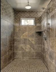 the walk in showers adds to the beauty of the bathroom and gives