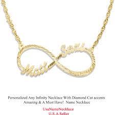 Gold Custom Name Necklace Usa Name Necklace Designer Cut Name Necklace Custom Name Jewelry