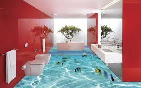 ideas for bathroom flooring 3d flooring ideas and 3d bathroom floor murals designs