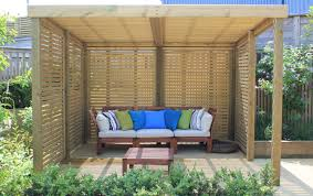 pictured jacksons fencing retreat garden shelter garden design