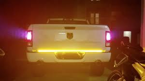 opt7 redline triple led tailgate light bar installation youtube