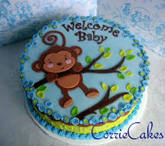 monkey baby shower cake let them eat cake pinterest