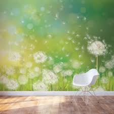 Wallpaper Home Decoration Wall Beautiful Dandelion Wall Decal To Bring Your Room Feel Fresh