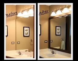 Update Bathroom Mirror by Flooring Fanatic March 2013