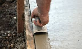 how to lay a concrete pad or slab diy guides mitre 10