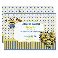 25 parasta ideaa pinterestissä minion birthday invitations