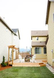 a small backyard renovation and deck addition the inspired room