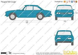 peugeot 504 the blueprints com vector drawing peugeot 504 coupe