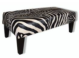 Zebra Ottoman Animal Print Ottoman Zebra Print Furniture Australia Animal Skin