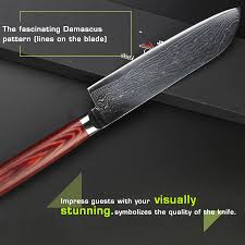 damascus cooking knives damascus kitchen knife custom handmade aliexpress haoye 7 inch santoku knife damascus kitchen cooking knives anese vg10 quality stainless steel fish
