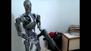diy full size animatronic robot terminator model t800 robotics
