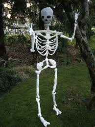 Scary Halloween Skeleton Easy Outdoor Scary Halloween Decorations