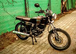 yamaha rx 135 modification scrambler restoration by studio 21