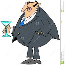 martini cartoon clip art man holding a cocktail stock illustration image of male 27963713