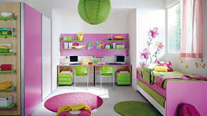 Extraordinary  Pink Kids Room Interior Inspiration Of Best - Kids bedroom paint designs