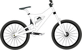 download real mountain bike coloring pages free printable coloring
