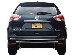 nissan rogue front bumper 08 15 rogue select rear bumper protector guard double layer s s