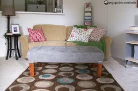 tufted coffee table diy home decorating interior design bath