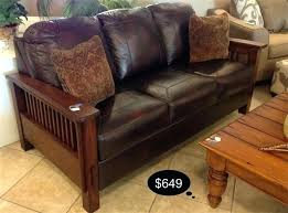 mission style leather sofa mission style leather sofa leather sofa sale mission mission style