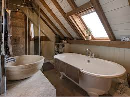 New Build Interior Design Ideas by Bathroom Interior Exposed Beams Painted Common Rafters New Build