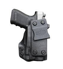 iwb light bearing holster tuckable iwb holster cut for rmr