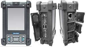 rugged handheld pc rugged pc review handhelds and pdas advantech pws 8033m