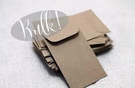blank seed packets small business card envelopes bulk 100 mini kraft envelopes