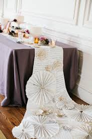 diy table runner ideas music sheet table runner photo by gem photo styling by the