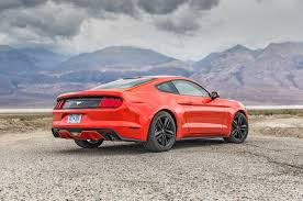 2016 ford mustang 2016 ford mustang ecoboost first test review