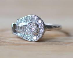 palladium engagement rings palladium ring etsy