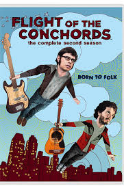 Netflix Flight Flight Of The Conchords Complete Hbo Second Season Dvd 2009