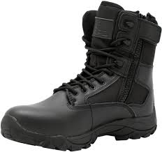 wide width motorcycle boots lapg black classic 8