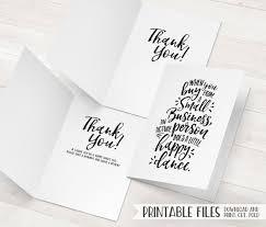 business thank you cards small business thank you cards printable package inserts
