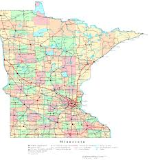 Map Of Wisconsin Cities Minnesota Printable Map