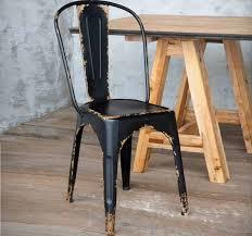 Wooden Bistro Chairs Antique Black Metal Bistro Chair Antique Farmhouse