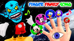 space mickey mouse halloween masks finger family song youtube