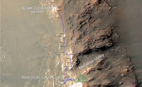 Mars Map Opportunity Mars Rover Finishes Marathon In Just Over 11 Years Nasa