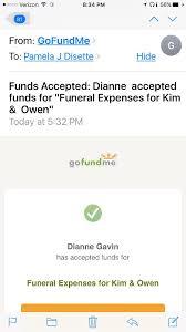 funeral expenses fundraiser for dianne gavin by j disette funeral expenses