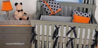 Orange Crib Bedding Orange Crib Bedding Pine Creek Bedding