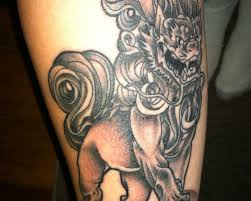 wonderful foo dog tattoo designs tattoomagz