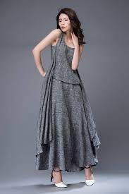 linen dress maxi dress womens dresses dress grey dress