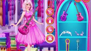 barbie princess popstar play game