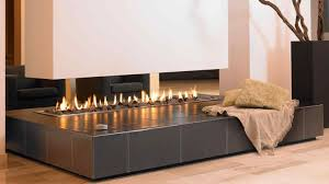double sided propane fireplace double sided fireplaces in